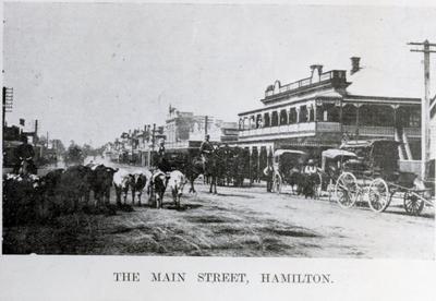 Photograph - The Main Street, Hamilton