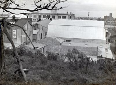 Photograph - view from Garden Place Hill, Hamilton.