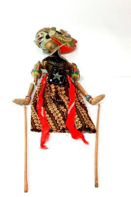 West Javan puppet doll
