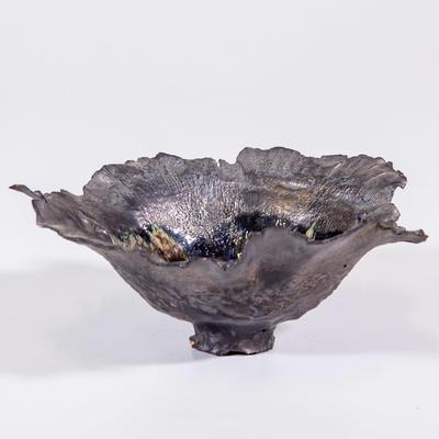 Bowl, leaf form