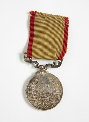 Medal – NZ Territorial 12 Yrs Service, J.C.Holland