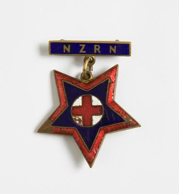Badge – NZ Registered Nurse Badge, P. Reynold