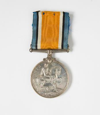British War Medal – WWI  D.C. McNicol