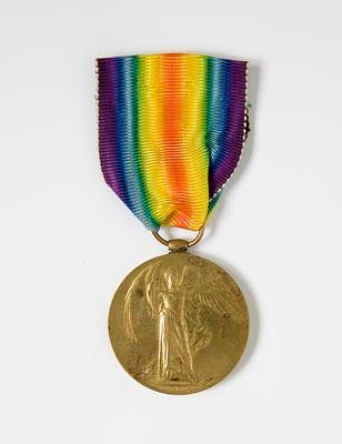 Victory Medal – WWI, R.C. Muir