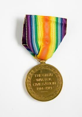 Victory Medal – WWI, R.T. Hunter