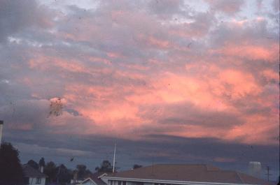 Slide - Sunset from Ulster Street, Hamilton