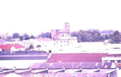 Slide - Hamilton skyline towards St. Peter's Cathedral