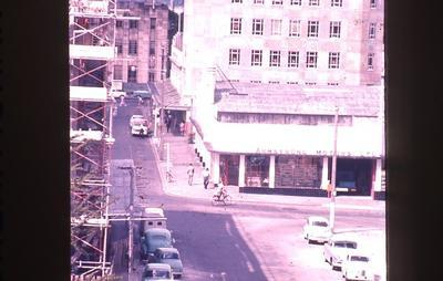Slide - view from Technical Hill towards Post Office/Garden Place