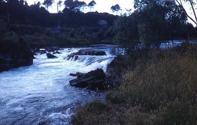 Slide - Rapids above Huka Falls