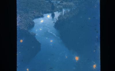 Slide - River above Huka Falls