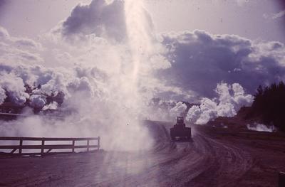 Slide - Wairakei steam
