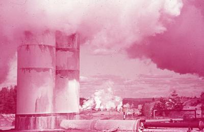 Slide - Geo-thermal steam power, [Wairakei]