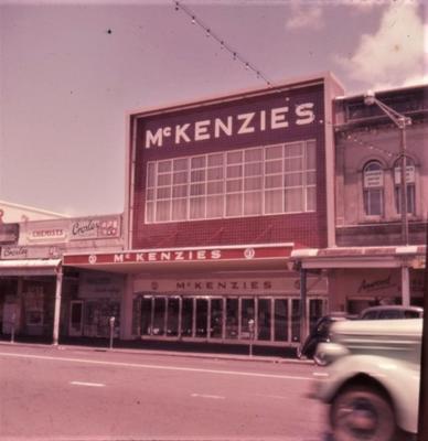 Slide - McKenzies' new shop