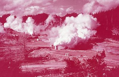 Slide - Geo-thermal power, Wairakei