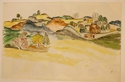 Untitled [Hillside Settlement]