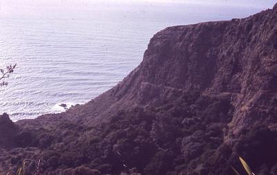 Slide - South cliff, Te Toto, Raglan