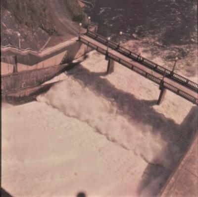 Slide - Karapiro spillway