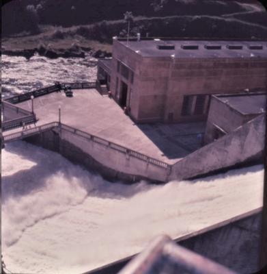Slide - Karapiro spillway; Alan Bryce; Nov 1962; 2003/23/36