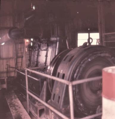 Slide - triple exa engine on geothermal steam; Alan Bryce; 08 Jan 1958; 2003/23/37