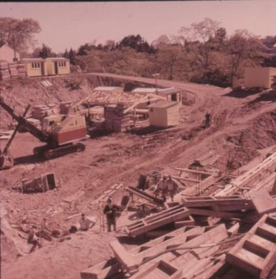 Slide - Line lowering near State Advances building