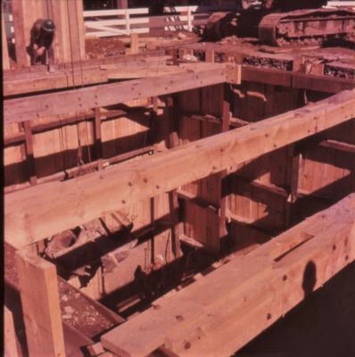 Slide - Line lowering Victoria Street, Hamilton; Alan Bryce; 1960; 2003/23/41