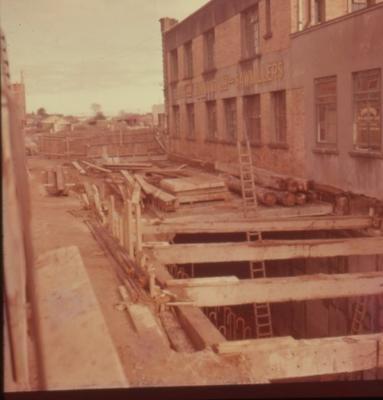 Slide - Roof over Victoria Street railway tunnel