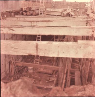 Slide - Roof Victoria Street tunnel, Hamilton