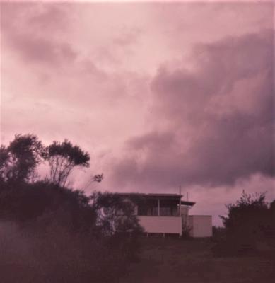 Slide - Stormy sky, Raglan