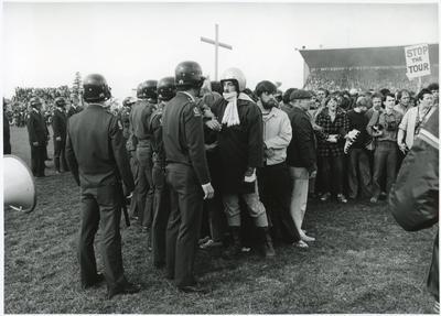 """Confrontation on Centre Field"" - 1981 Springbok Tour"
