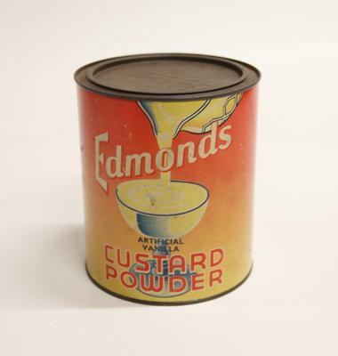 Edmonds Custard Powder Tin