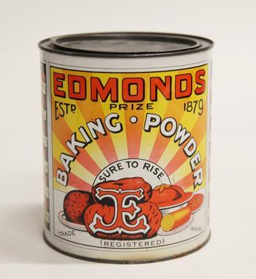 Edmonds Baking Powder Tin