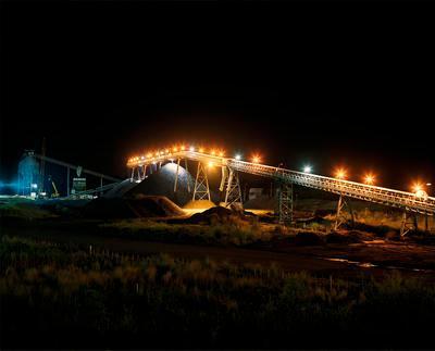 Rotowaro Coal Screens