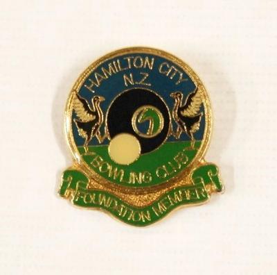 Badge – Hamilton City Bowling Club