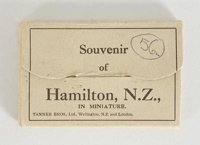 Postcards - Souvenir Hamilton Views
