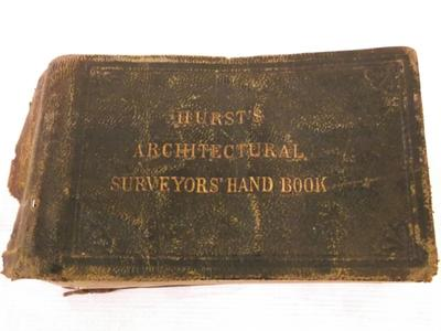 Book - Hurst's Architectural Surveyors Hand Book