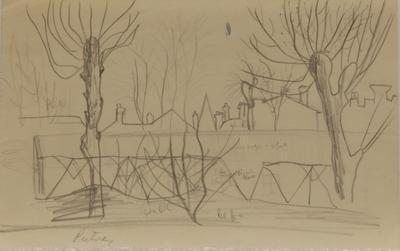 Putney [sketch]; Ruth Davey; 2020/18/209