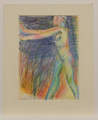 Untitled [rainbow woman]