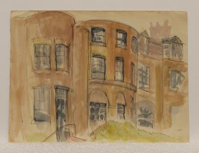 Untitled [London houses]