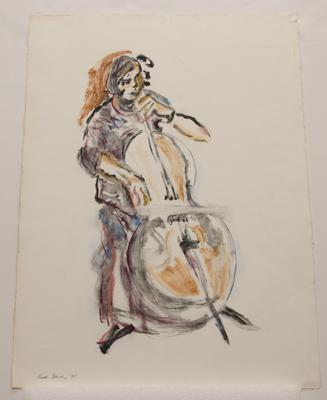 Untitled [cellist]