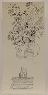 Untitled [flowers in vase]