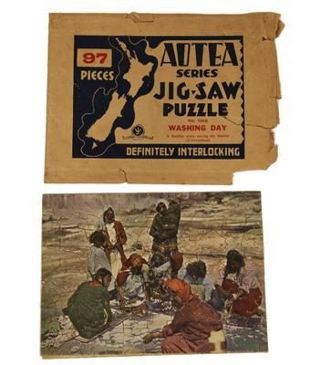 Jigsaw puzzle – Washing Day