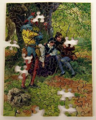 Jigsaw puzzle – Robin Hood