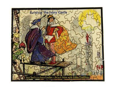 Jigsaw puzzle – Building the Ivory Castle