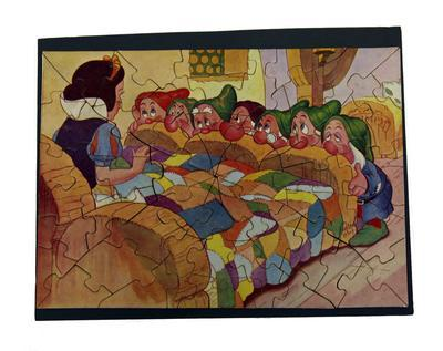 Jigsaw puzzle – Snow White and the Seven Dwarfs