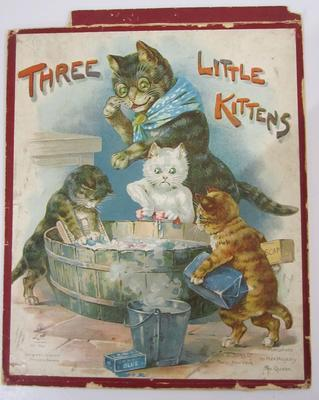 Jigsaw puzzle set – Three Little Kittens