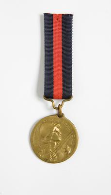 French military medallion
