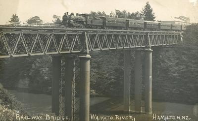 Postcard – Railway Bridge