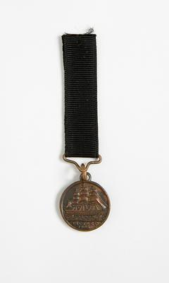 British naval commemorative medal