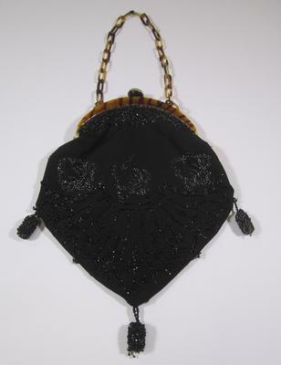 Beaded evening purse