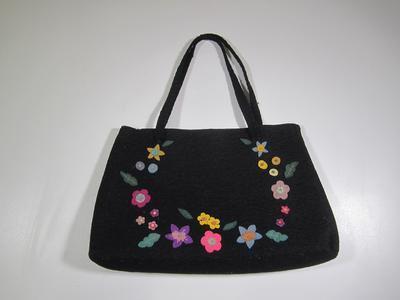 Women's felt bag